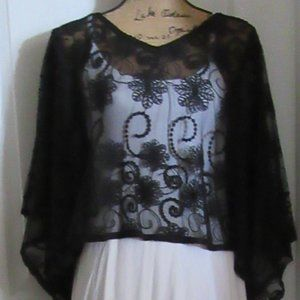 Lace Poncho- More than one available